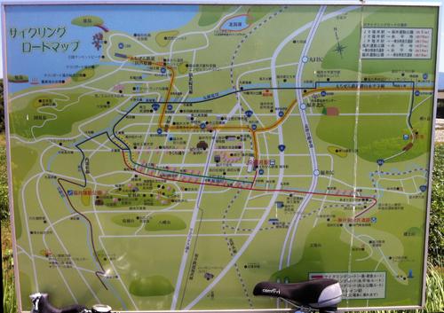 福井県永平寺-一乗谷-テクノパークのサイクリングロード