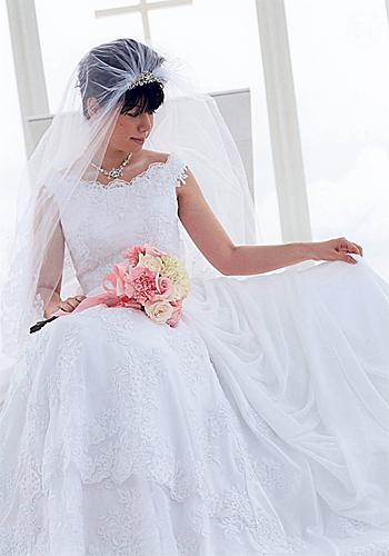 母様の手作りウエディングドレス