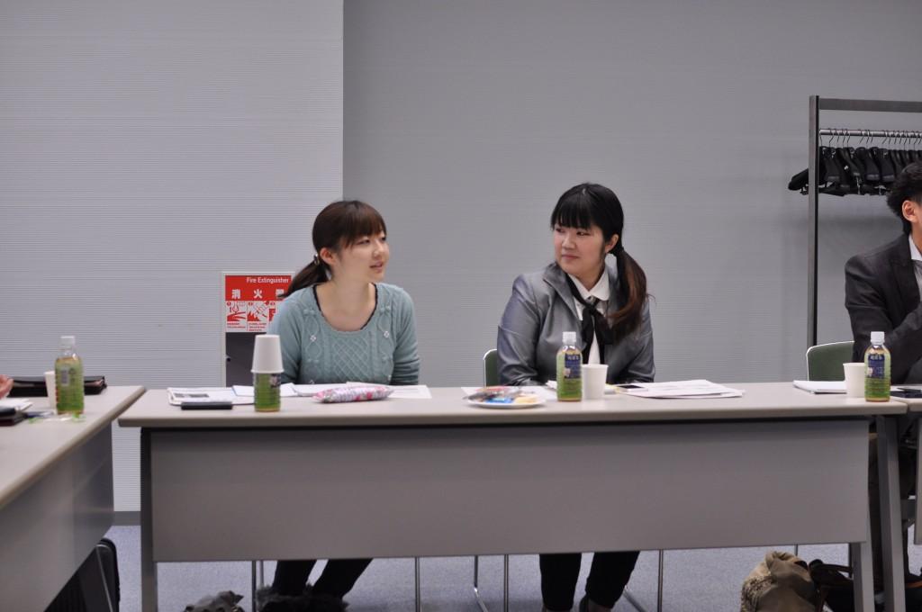 左:池田女史 右:安井女史