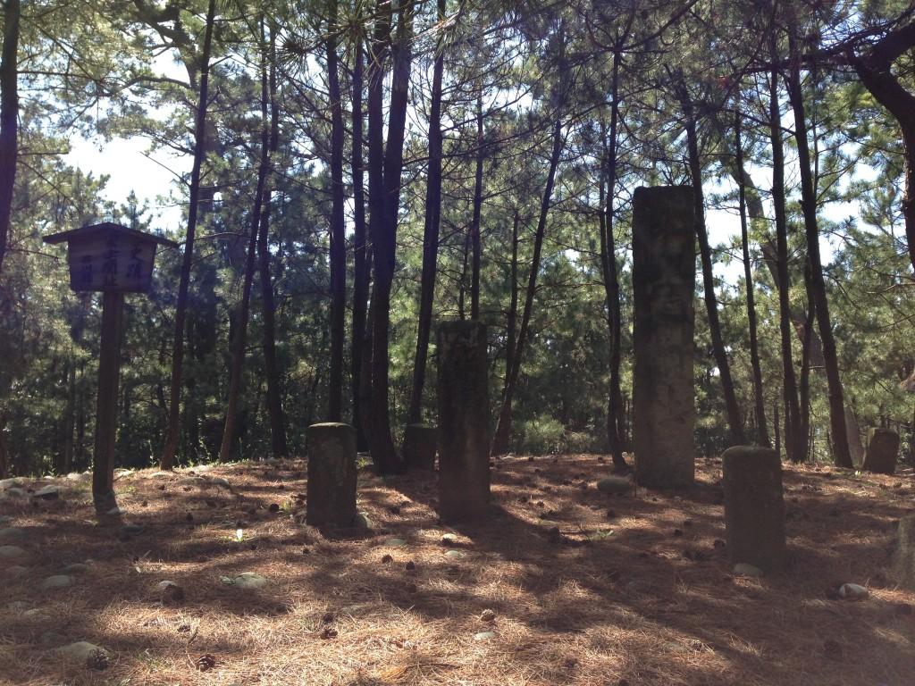 安宅の関跡の碑