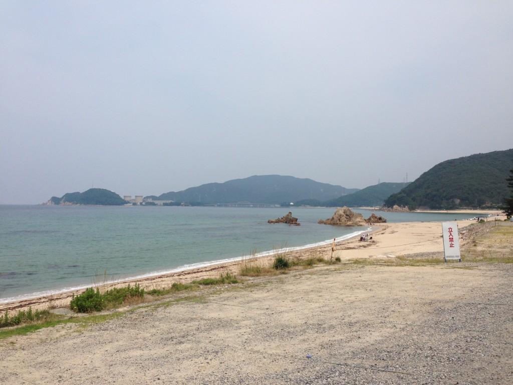 水晶浜と原発