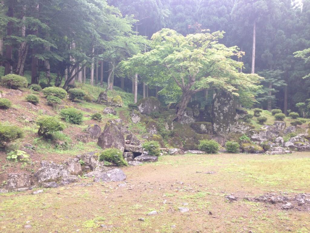 朝倉氏の館の庭園