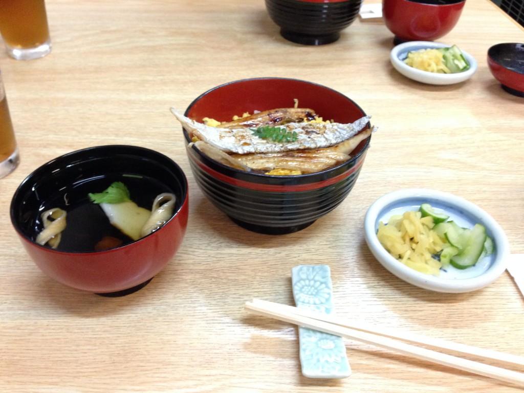 和歌山県田辺の太刀魚丼