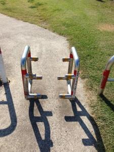 自転車止め 強化タイプ