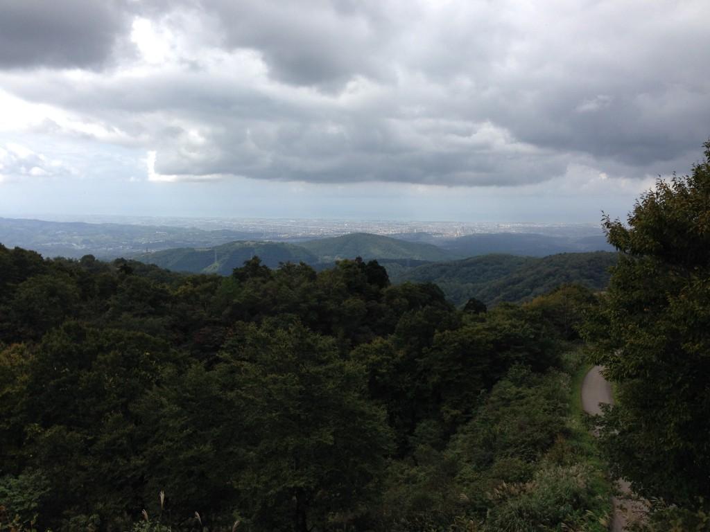 夕霧峠から金沢方面