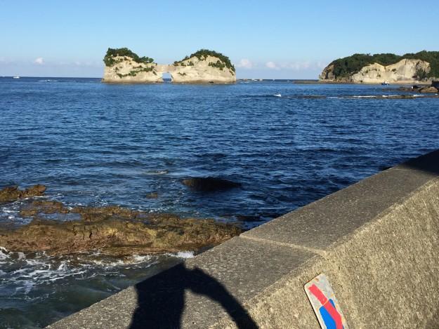 海岸沿いの奇岩
